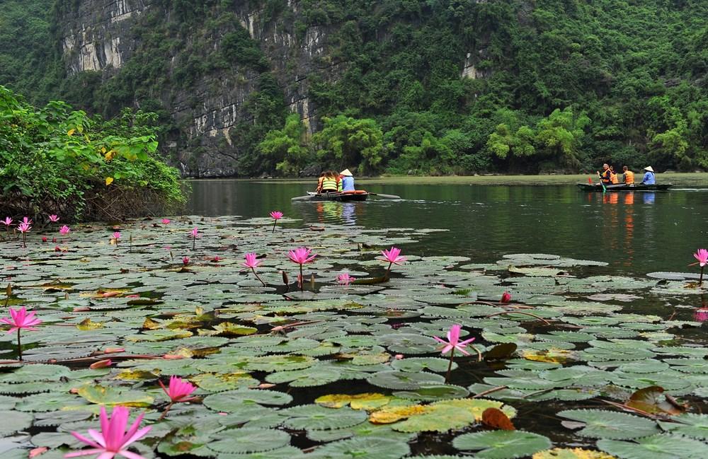 Tranquil autumn at Trang An Landscape Complex - News VietNamNet