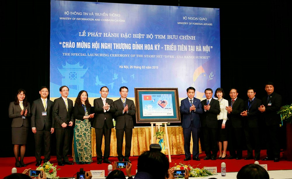 Vietnam launches stamp set to welcome DPRK-USA Hanoi summit - News