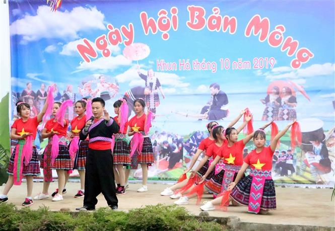 Mong festival in Lai Chau attracts thousands of visitors hinh anh 1