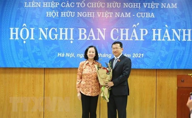 New Chairman of Vietnam-Cuba Friendship Association elected hinh anh 1