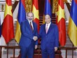 Prime Minister Phuc welcomes, holds talks with Armenian counterpart