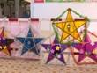 Soldiers make lanterns for kids during pandemic