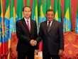 Presidents of Vietnam, Ethiopia hold talks