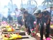Remains of volunteer Vietnamese soldiers in Cambodia return home
