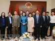 Vice President visits embassy in UAE, meets Nakheel & Limitless leader