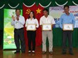Hau Giang's soursop gets trademark registration certificate
