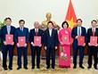 Six new ambassadors appointed
