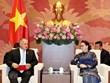 NA Chairwoman receives Venezuelan guests