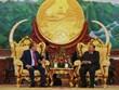 Deputy PM Truong Hoa Binh meets with Lao top leaders