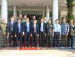 Governors of Cambodian provinces extend New Year greetings to Long An