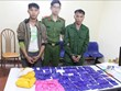 Son La: two drug dealers caught red handed