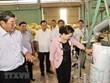 Top legislator visits Soc Trang province