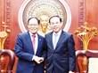 HCM City's leaders welcome new Korean Ambassador to Vietnam