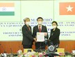 Vietnamese association presents 100 ventilators to India