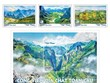 Stamp collection features global geoparks in Vietnam