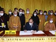 Vietnamese leaders pay tribute to Most Venerable Thich Pho Tue