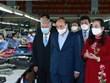 President visits elderly-led businesses