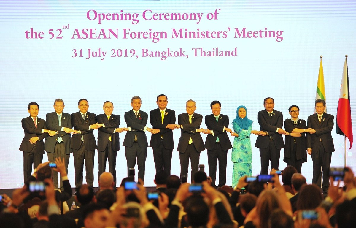 Joint Communiqué of the 52nd ASEAN Foreign Ministers' Meeting