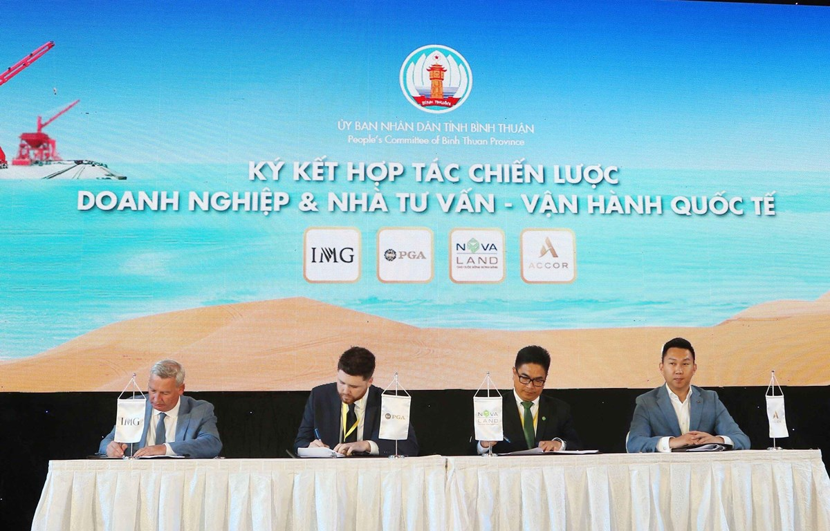 Novaland, foreign partners to develop tourism in Binh Thuan
