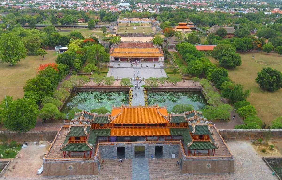 The Hue ancient citadel relic complex won UNESCO recognition in 1993. (Photo: VNA)