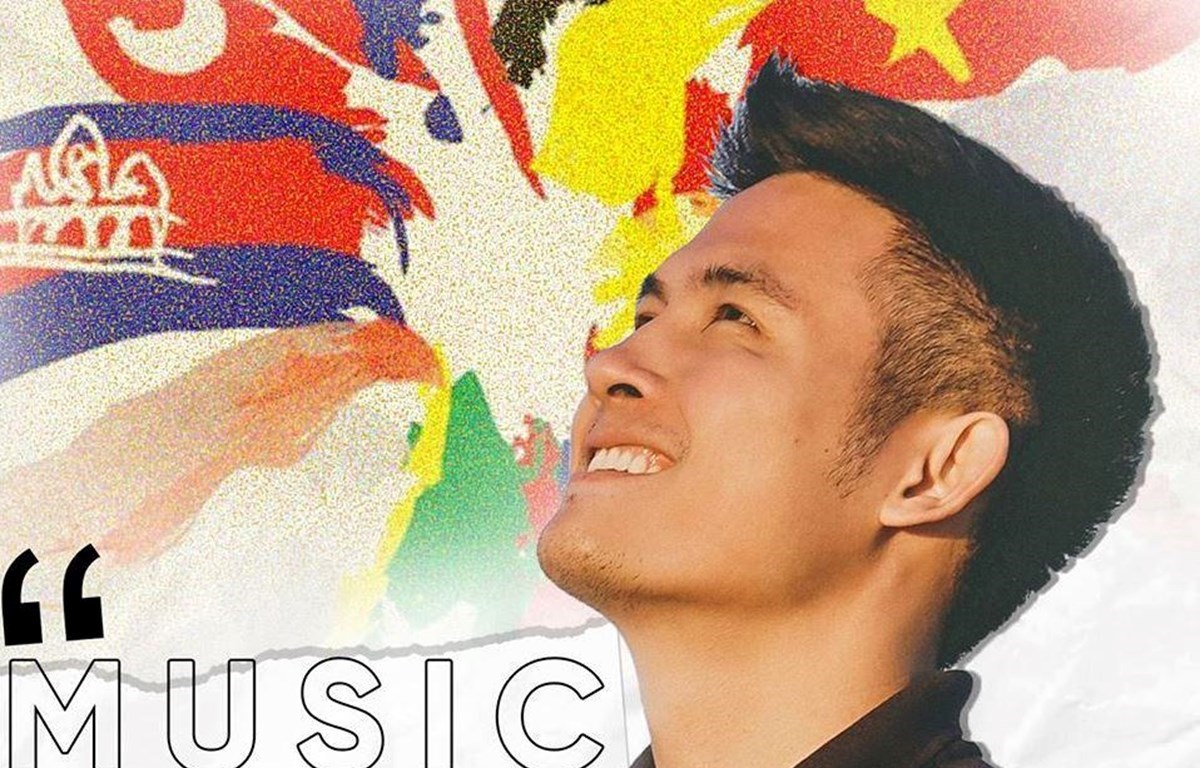 """Vietnamese Travel Vlogger Hoang Minh Tuan, nicknamed Chan La Ca or Chan, joins the ResiliArt movement with the song """"We are Unity – ASEAN."""" (Photo: UNESCO)"""
