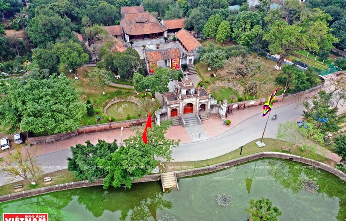 Temple dedicated to King An Duong Vuong in Co Loa relic complex. (Photo: VNA)