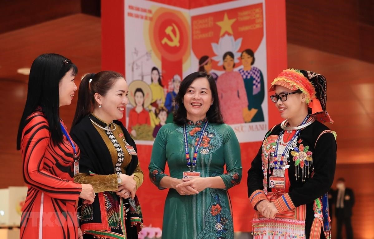 Some 30.2 percent of deputies of the 15th National Assembly and nearly 30 percent of all-level People's Councils for the 2021-2026 term are women. Illustrative photo. (Source: VNA)