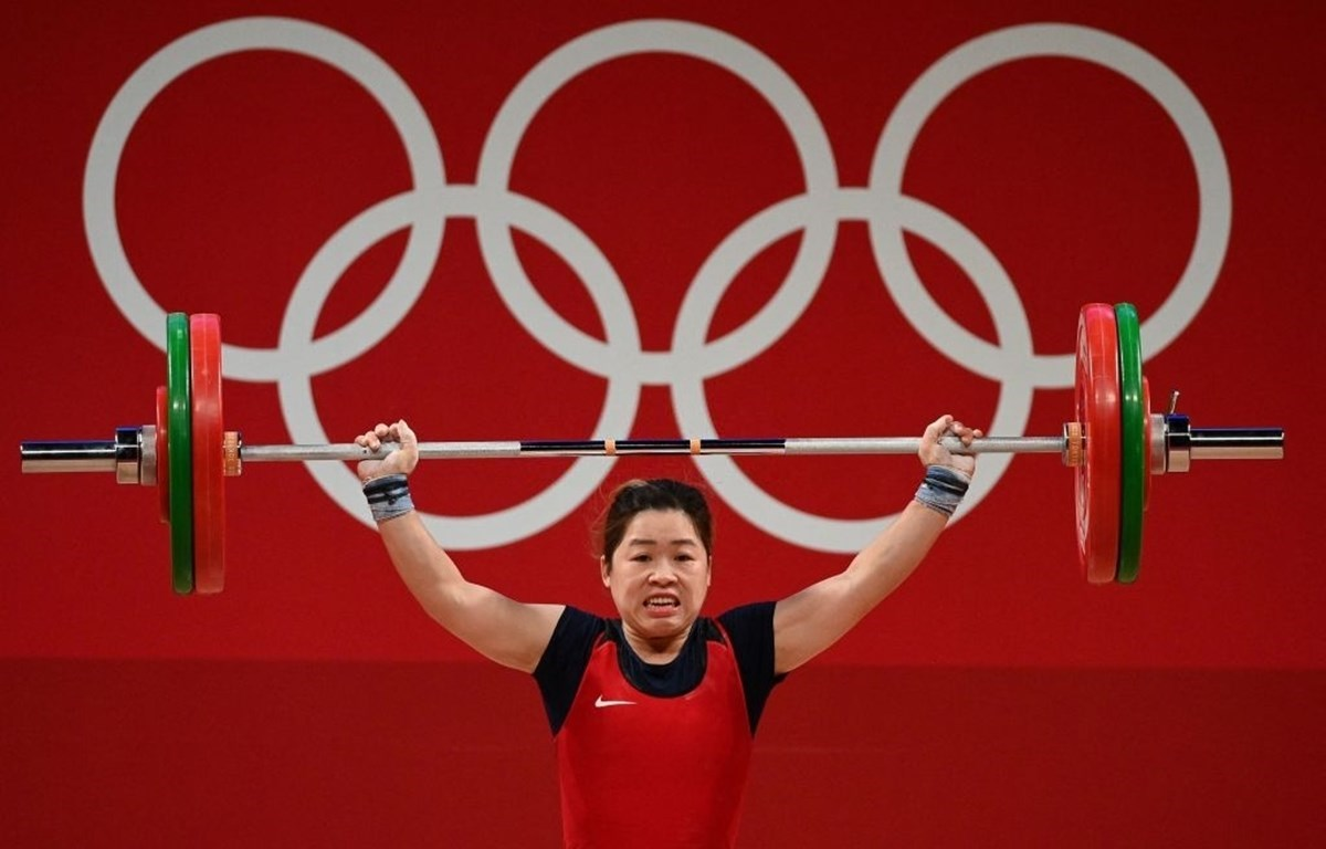 Weightlifter Hoang Thi Duyen (Photo: Getty Images)
