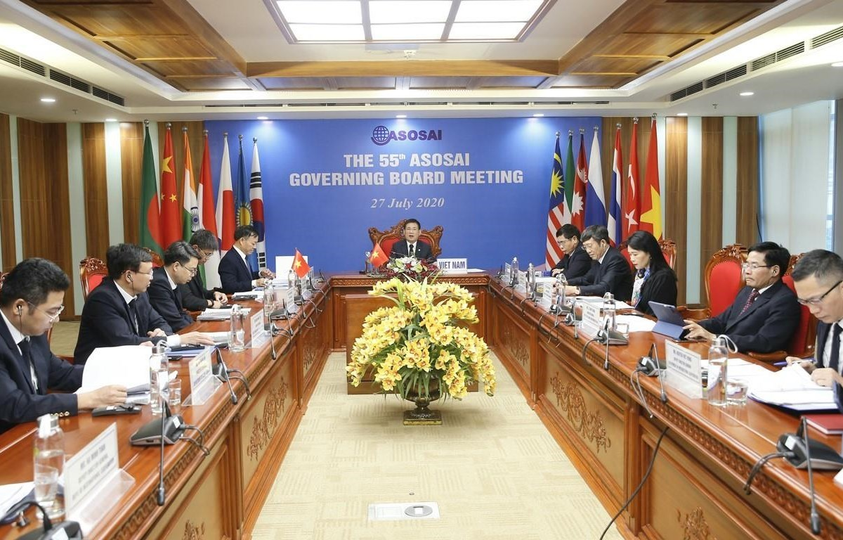 55th meeting of ASOSAI Governing Board deals with many important issues