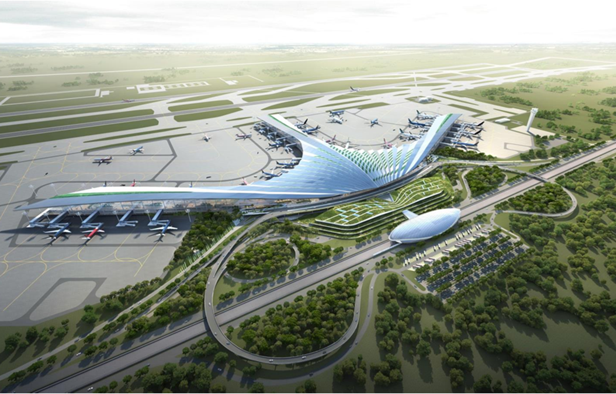 A design of Long Thanh International Airport (Photo: mt.gov.vn)