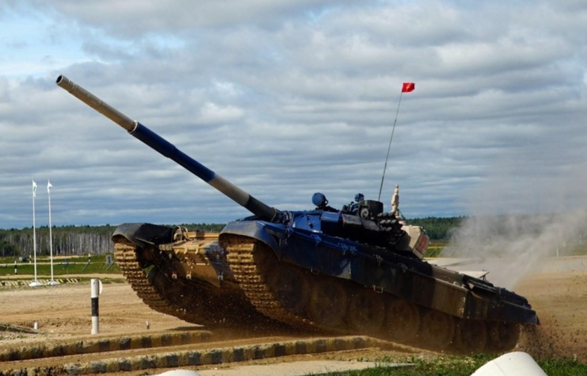 Vietnamese tank crew come second at Army Games 2019 in Russia