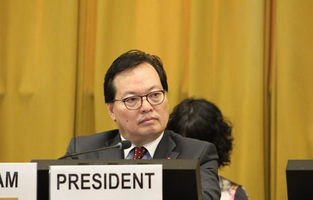 Vietnam chairs final plenary sessions of disarmament conference