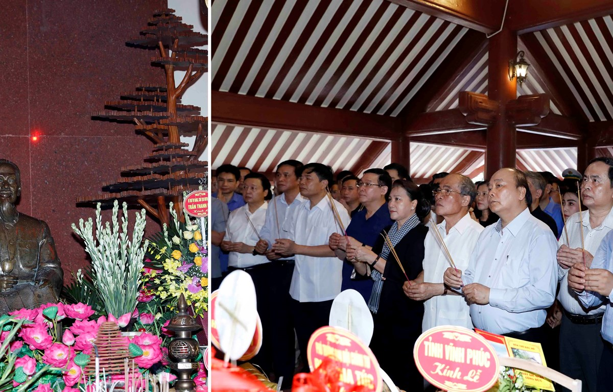 Gov't, NA leaders pay tribute to late President Ho Chi Minh