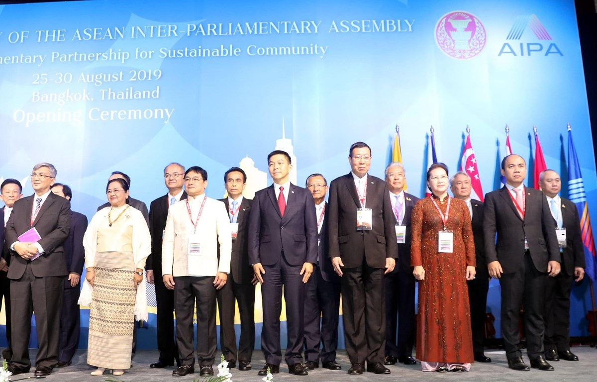 40th AIPA General Assembly opens in Thailand