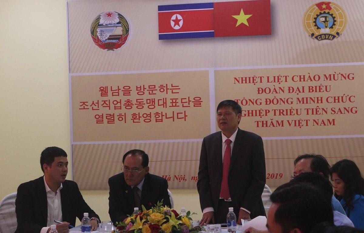 DPRK trade union delegation visits Ha Nam