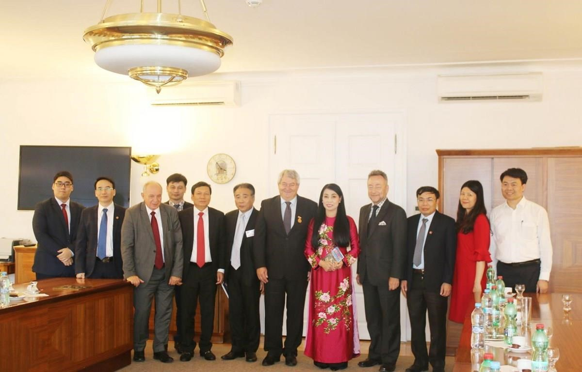 Vinh Phuc delegation seeks investment from Czech Republic