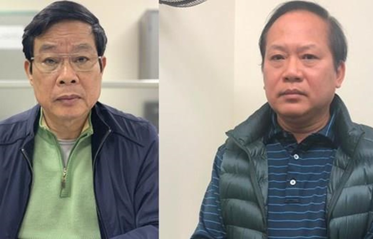 Two former ministers accused of receiving bribes in AVG-MobiFone deal