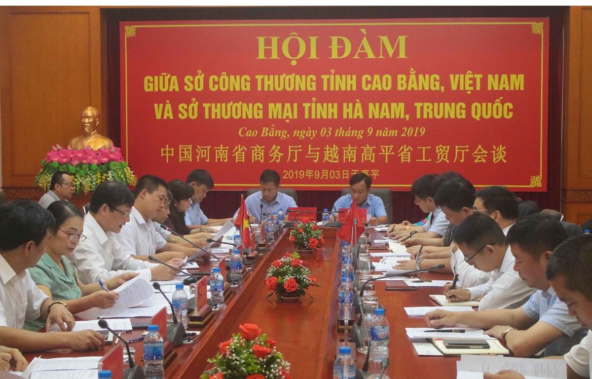 Cao Bang, China's Henan beef up trade cooperation