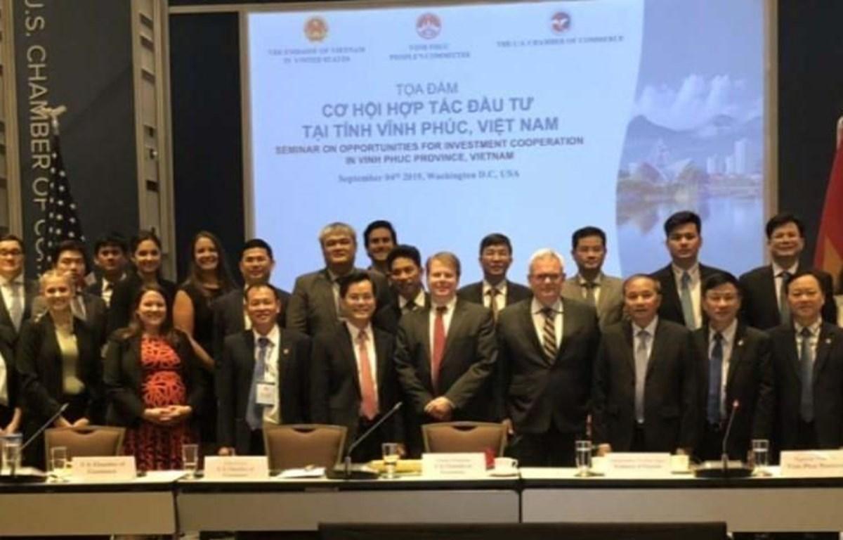 Vinh Phuc province promotes investment in Washington