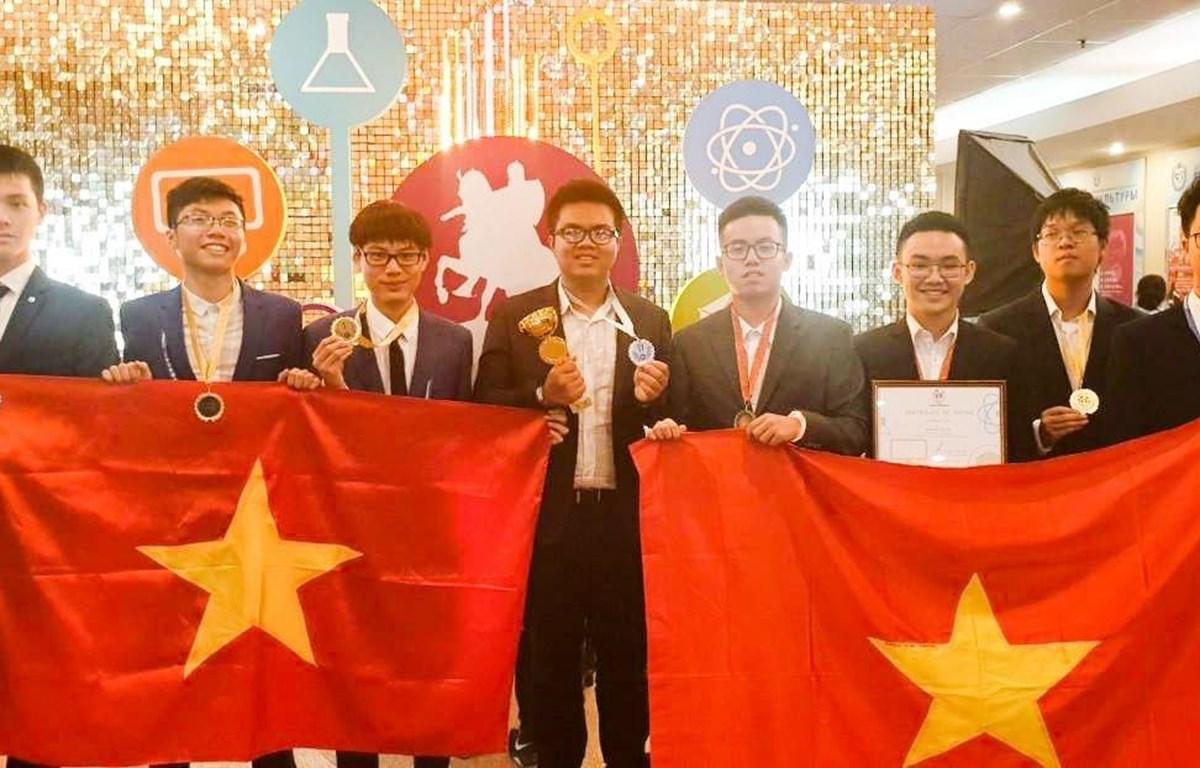 Vietnam wins big at 4th International Olympiad of Metropolises