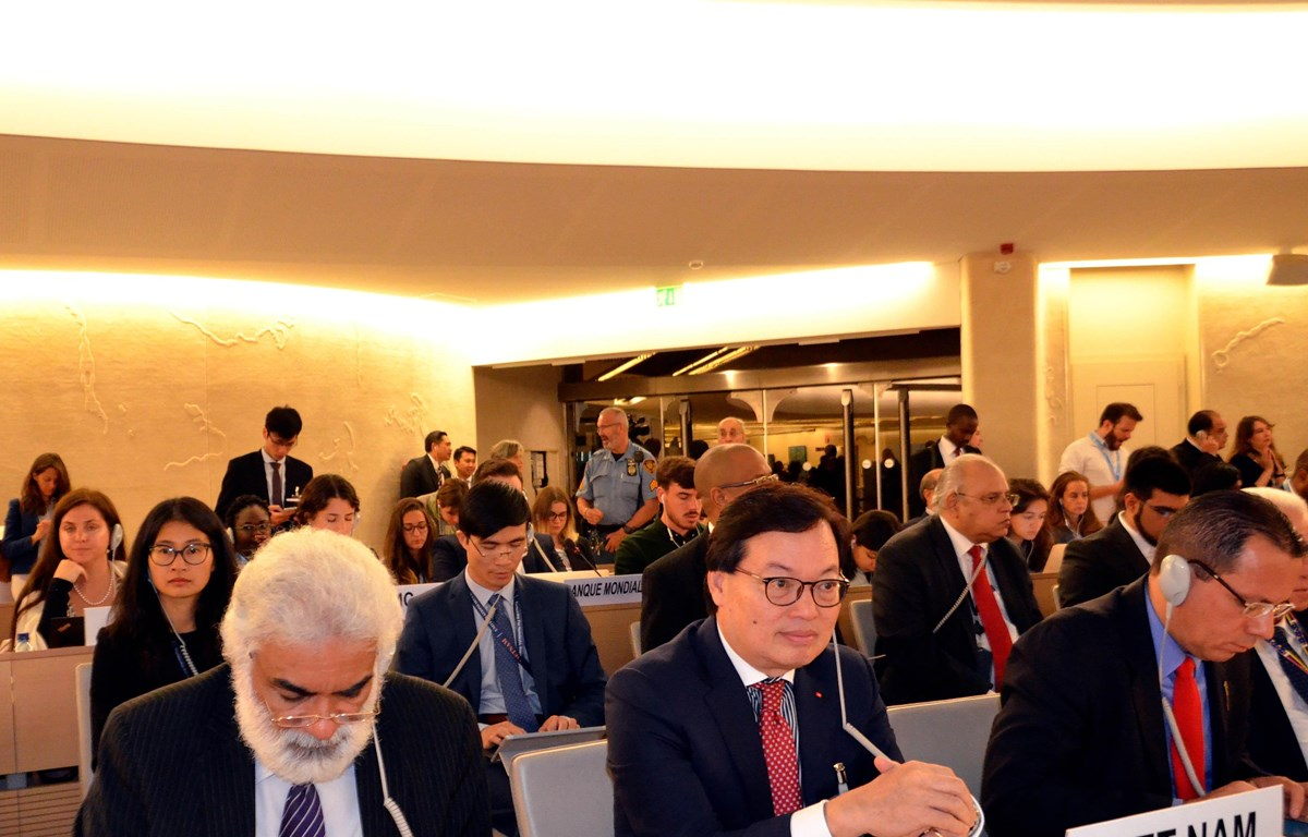 Vietnam attends UNHRC's 43nd session on climate change