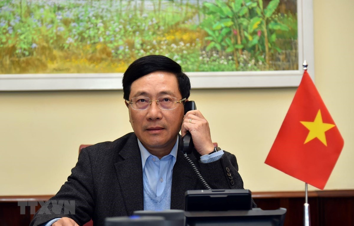Deputy Prime Minister and Foreign Minister Pham Binh Minh (Source: VNA)