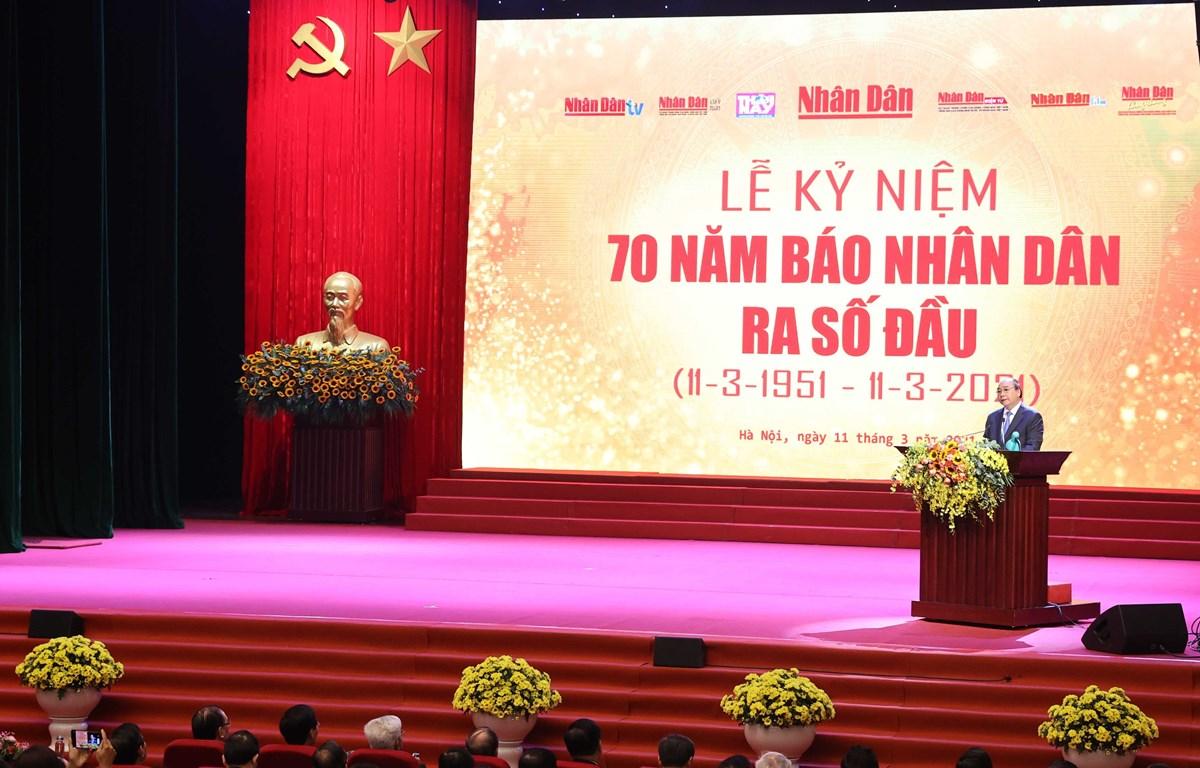 Prime Minister at the ceremony (Photo: VNA)