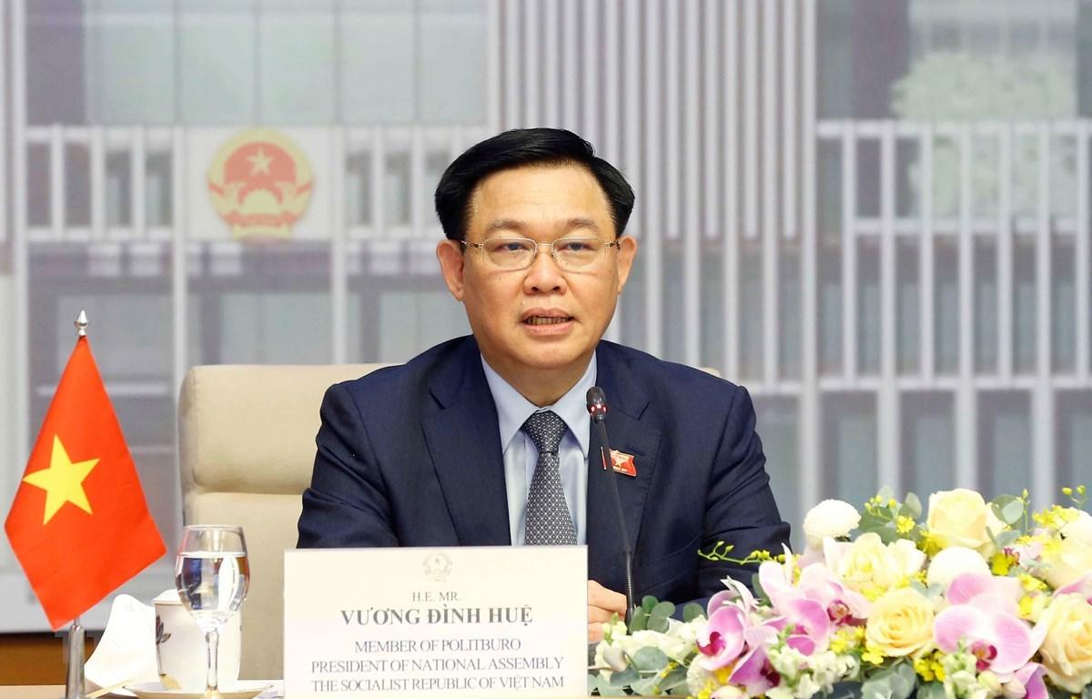 Chairman of the National Assembly Vuong Dinh Hue (Photo: VNA)