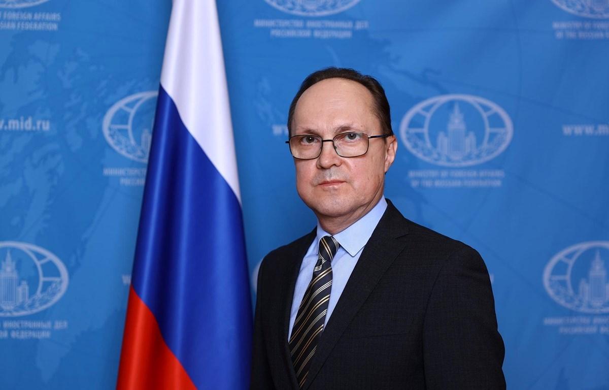 Russian Ambassador to Vietnam Gennady Bezdetko (Source: Russian Embassy in Vietnam)