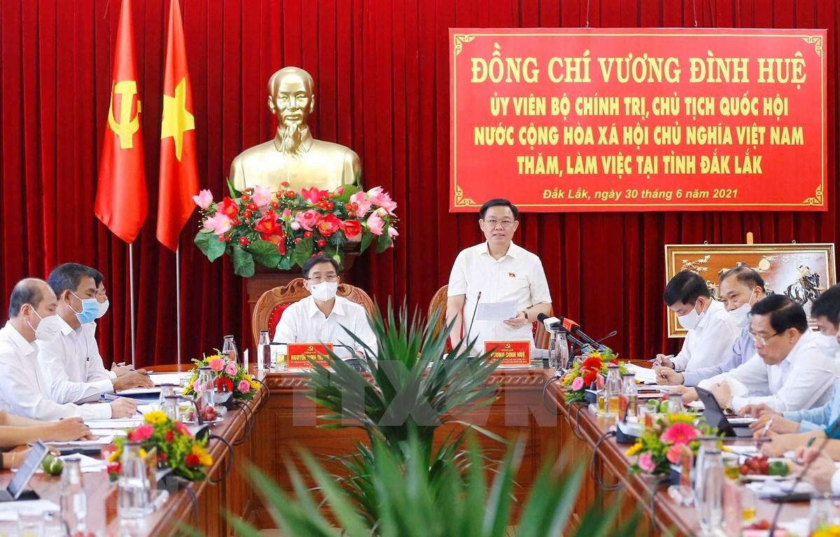 Dak Lak should give top priority to Buon Ma Thuot-Nha Trang expressway: NA leader