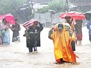 Storm ravages Philippines, drought prolongs in Thailand