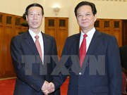 Prime Minister welcomes Chinese Vice Premier