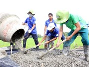 HCM City: Over 100 youth join volunteer activities in Laos