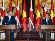 UK Prime Minister wraps up official visit to Vietnam